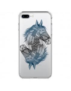 Coque Cheval Horse Double Transparente pour iPhone 7 Plus et 8 Plus - Rachel Caldwell