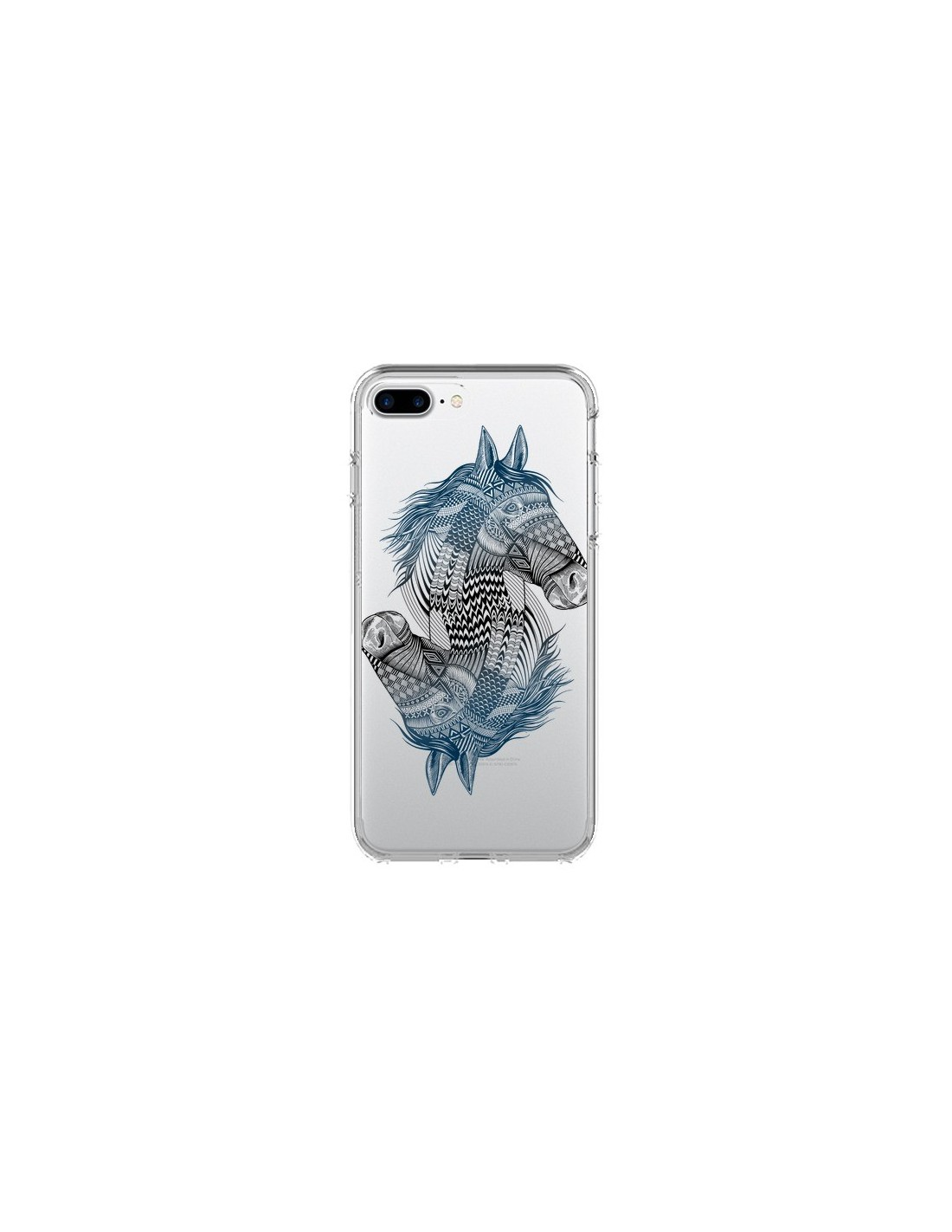 iphone 8 plus coque cheval