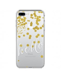 Coque Hello, Bonjour Transparente pour iPhone 7 Plus - Sylvia Cook