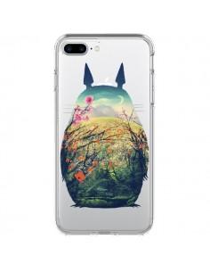 Coque Totoro Manga Comics Transparente pour iPhone 7 Plus et 8 Plus - Victor Vercesi