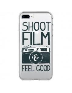 Coque Shoot Film and Feel Good Transparente pour iPhone 7 Plus - Victor Vercesi