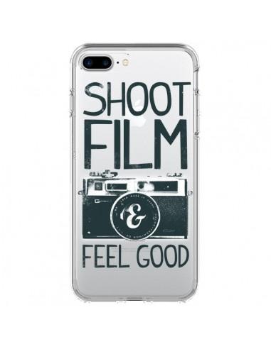 Coque iPhone 7 Plus et 8 Plus Shoot Film and Feel Good Transparente - Victor Vercesi