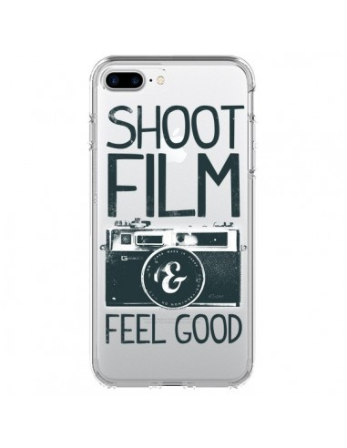 Coque Shoot Film and Feel Good Transparente pour iPhone 7 Plus et 8 Plus - Victor Vercesi