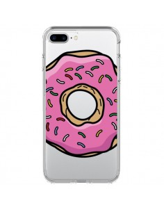 Coque Donuts Rose Transparente pour iPhone 7 Plus - Yohan B.