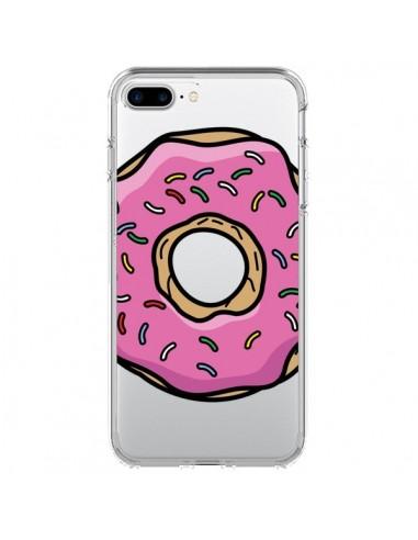 Coque Donuts Rose Transparente pour iPhone 7 Plus - Yohan B.