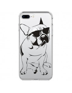 Coque Chien Bulldog Dog Transparente pour iPhone 7 Plus - Yohan B.