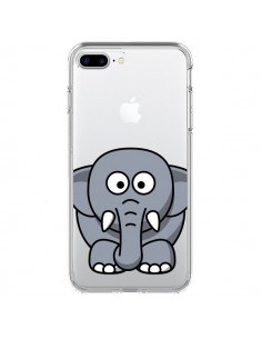 Coque Elephant Animal Transparente pour iPhone 7 Plus - Yohan B.