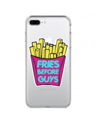 Coque Fries Before Guys Transparente pour iPhone 7 Plus et 8 Plus - Yohan B.