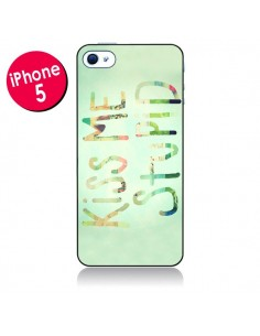 Coque Kiss Me Stupid pour iPhone 5 - R Delean