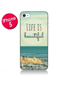 Coque Life is Beautiful pour iPhone 5 - R Delean