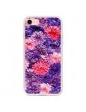 Coque Fleurs Violettes Flower Storm pour iPhone 7 - Asano Yamazaki
