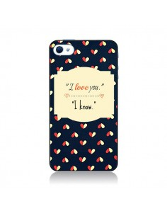 Coque I love you pour iPhone 4 et 4S - R Delean