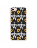 Coque Elephant Tournesol pour iPhone 7 - Eleaxart