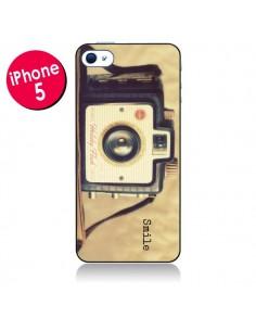 Coque Appareil Photos Vintage Smile pour iPhone 5 - R Delean