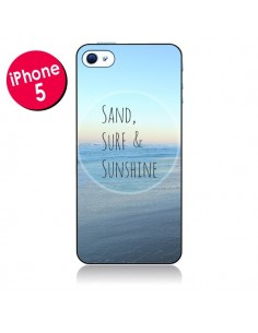 Coque Sand, Surf and Sunshine pour iPhone 5 - R Delean