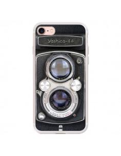 Coque iPhone 7/8 et SE 2020 Vintage Camera Yashica 44 Appareil Photo - Maximilian San