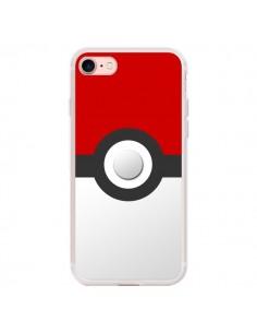 Coque iPhone 7/8 et SE 2020 Pokemon Pokeball - Nico