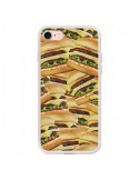 Coque Burger Hamburger Cheeseburger pour iPhone 7 et 8 - Rex Lambo