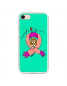 Coque Take care Maman Fête des Mères pour iPhone 7 - Leellouebrigitte