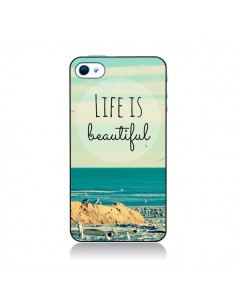 Coque Life is Beautiful pour iPhone 4 et 4S - R Delean