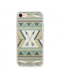 Coque iPhone 7/8 et SE 2020 Aztec Pattern Arrows Fleche Azteque Tribal - LouJah