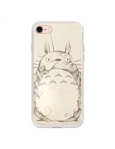 Coque iPhone 7/8 et SE 2020 Poetic Creature Totoro Manga - LouJah