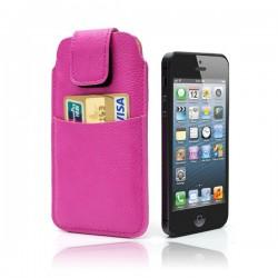 Etui/Housse Confort en Cuir pour iPhone 5
