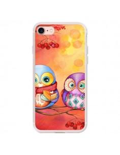 Coque iPhone 7/8 et SE 2020 Chouette Arbre - Annya Kai