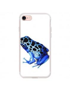 Coque iPhone 7/8 et SE 2020 Grenouille Bleue - Annya Kai