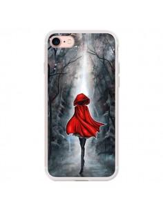 Coque iPhone 7/8 et SE 2020 Le Petit Chaperon Rouge Bois - Annya Kai