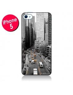 Coque New York Noir et Blanc pour iPhone 5 - Anaëlle François