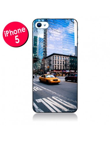 Coque New York Taxi pour iPhone 5 - Anaëlle François