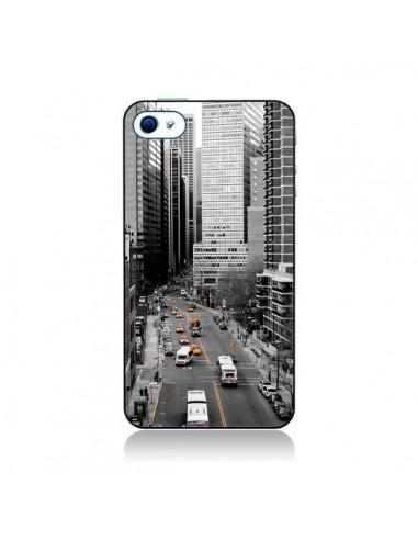 Coque New York Noir et Blanc pour iPhone 4 et 4S - Anaëlle François