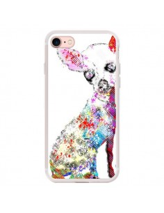 Coque iPhone 7/8 et SE 2020 Chien Chihuahua Graffiti - Bri.Buckley