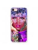 Coque iPhone 7 et 8 Niki Minaj Chanteuse - Brozart