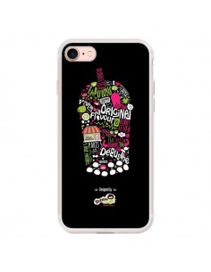 Coque iPhone 7/8 et SE 2020 Bubble Fever Original Flavour Noir - Bubble Fever