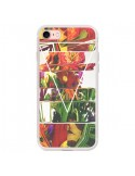 Coque iPhone 7 et 8 Facke Flowers Fleurs - Danny Ivan