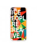 Coque Nice people are creative art pour iPhone 7 et 8 - Danny Ivan