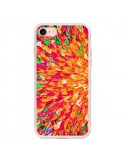 Coque Fleurs Oranges Neon Splash pour iPhone 7 et 8 - Ebi Emporium