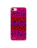 Coque iPhone 7 et 8 Tribal Leopard Rouge - Ebi Emporium