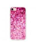 Coque Romance Me Paillettes Roses pour iPhone 7 et 8 - Ebi Emporium