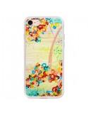 Coque Summer in Bloom Flowers pour iPhone 7 - Ebi Emporium