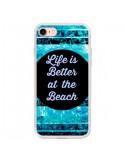 Coque iPhone 7 et 8 Life is Better at The Beach - Ebi Emporium