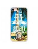 Coque Fun Summer Sun Eté pour iPhone 7 - Eleaxart