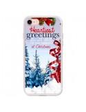 Coque iPhone 7 et 8 Voeux Joyeux Noël - Eleaxart