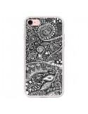 Coque Azteque Noir et Blanc pour iPhone 7 et 8 - Eleaxart