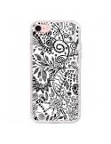 Coque Azteque Blanc et Noir pour iPhone 7 - Eleaxart