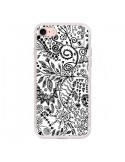 Coque Azteque Blanc et Noir pour iPhone 7 et 8 - Eleaxart