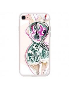 Coque iPhone 7/8 et SE 2020 Femme en fleurs - Elisaveta Stoilova