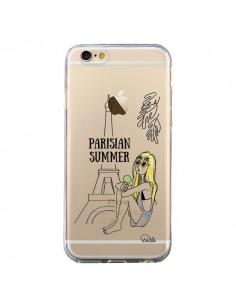 Coque iPhone 6 et 6S Parisian Summer Ete Parisien Transparente - Lolo Santo